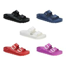 Birkenstock Arizona EVA Slides Sandals - white red blue black