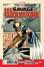 Savage Wolverine #5 (July 2013, Marvel)