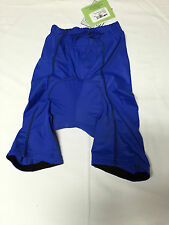 Biemme Men's Cycling Trousers strapless with insert,Sz. sorted,col:blue, New