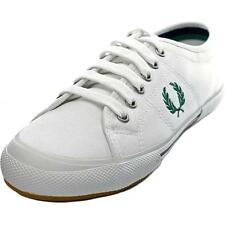 Fred Perry Vintage Tennis  Men  Round Toe Canvas  Sneakers