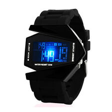 0817A Mens Ladies Watch Waterproof Digital LED Display Silicone Wrist Watch