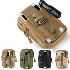 New Molle Pouch Belt Waist Pack Bag Military Waist Fanny Pack Phone Pockets 1pcs