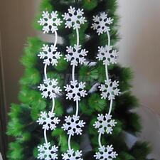 Popular White Foam Tree/Snowflake/Bell Ornaments Christmas Tree Ornaments