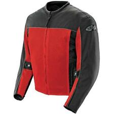 Joe Rocket Velocity Mens Mesh Textile Jacket  Red