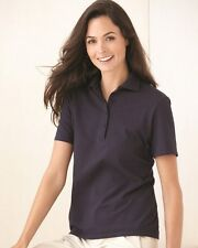 Hanes Ladies Cotton Pique Sport Shirt Womens Polo Tee S M L XL 2XL 3XL 035X-035