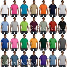 Hanes Mens Short Sleeve T Shirt Tagless Tee S M L XL 2XL 5250