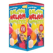 Disposable Helium Gas Canister Cylinders Fills Birthday Party Balloons