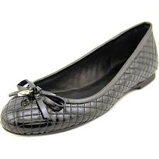 Michael Michael Kors Melody Quilted Ballet Round Toe Patent Leather Ballet Flats