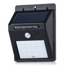 Outdoor Solar Power LED Path Way Wall Mount Garden Fence Lamp Light wholesale