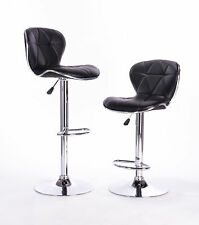 Attraction Design Home Adjustable Height Swivel Bar Stool Set of 2