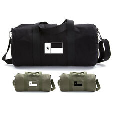 Army Force Gear Texas State TX Flag Duffle Bag Military Canvas Gym Sports Duffel