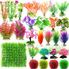 Stunning Artificial Plastic Grass Underwater Plants Fish Tank Aquarium Decor New