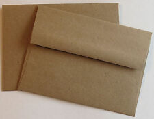 A6 Brown Bag / Grocery Bag Envelopes Square.Flap  4 3/4 x 6 1/2