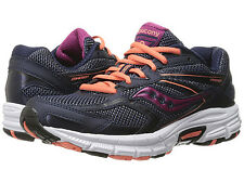 New Saucony Women's Grid Cohesion 9 Shoe S15262-34 Navy Coral Pur Various Sizes