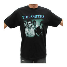 New The Smiths Blue Logo Rock Band Graphic T Shirts S-2XL