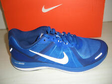 MENS NIKE DUAL FUSION  X 2 RUNNING  SHOES-SNEAKERS- 819316-400-ROYAL BLUE/ WHITE