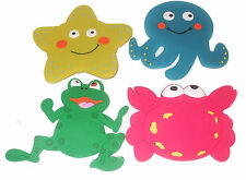 FOUR NOVELTY SUCTION BATH/SHOWER CHARACTERS