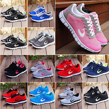 2016 Women's Sports Trainers GYM Jogging Running Casual Mesh Shoes UK Size 4-7.5