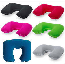 Soft Support Cushion Neck Pillow New Head & Neck Rest Inflatable Travel Flight
