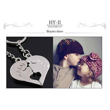 Keychain Heart Kiss Love Couple Key Chain Ring Keyring Keyfob Lover Presents Hot