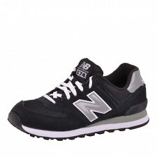New Balance 574 Trainers Shoes Running Shoes Grey Black Silver M574NK