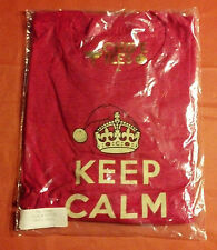 Authentic Keep Calm and Chive On Mistletoe Tee - KCCO - Size Large