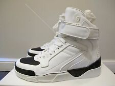 -57%OFF Givenchy White Tyson Leather High-Top Sneakers: 42, 41.5, 41