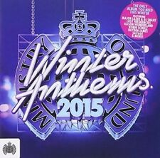 Ministry of Sound Winter Anthems - V/A New & Sealed CD-JEWEL CASE Free Shipping
