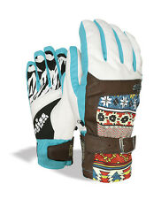 Level Gloves Snowboard gloves Bliss Gem blau insulating