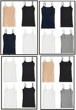 NWT AEROPOSTALE LOT OF 4 SOLID BASIC CAMI TANK TOPS  S M L XL XXL