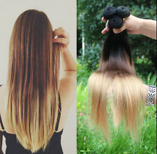 Hot Ombre Remy Straight/Kinky Curly/Body Wave Human Hair Weft Extensions 50g/pc