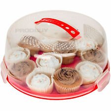 2 x Mason Cash Cake Transporters Caddies Storage Boxes Carrier Cupcake Birthday