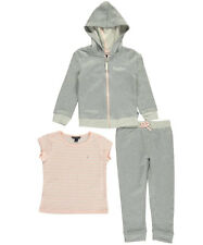 "Nautica Little Girls' Toddler ""Soft Stitch"" 3-Piece Outfit (Sizes 2T - 4T)"