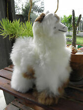 "New Handmade By Our Artisan In Peru 18 - 19"" Standing Plush Alpaca #31805"