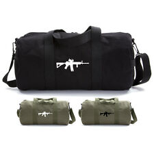 Army Force Gear AR 15 M4 M16 Assault Rifle Scope Military Duffle Bag Gym Duffel
