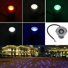 1W LED Waterproof Outdoor In Ground Garden Path Flood Landscape Light DC 12V PY