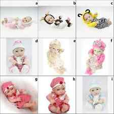 """11""""Reality Neonatal toy Clothes Girl Boy baby Cute Reborn doll Dress Clothes Toy"""