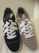 MENS GIO-GOI CEDAR LO TRAINERS - BLACK OR GREY- SIZE 7 & 8 RRP £60 ***NEW**