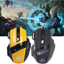 X7 Professional Wired Gaming Mouse 7 Button 3200 DPI LED Optical USB Game Mouse