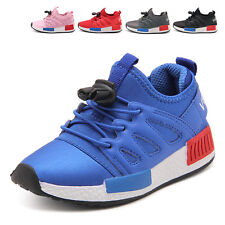 Girls Boys Kids Infants Walking Running Sports Trainers Lace Up Shoes Size