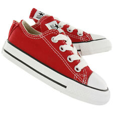 New! Toddler Chuck Taylor Converse All Star Low Top Shoes Sneakers Red 7J236 E19