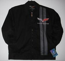 AUTHENTIC CHEVROLET CORVETTE RACING MECHANIC EMBROIDERED JACKET  JH DESIGN