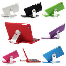 Bluetooth Wireless Keyboard with Swivel Rotary Stand Cover Case For iPad Mini US