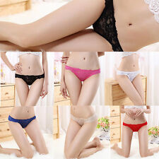 Sexy Lingerie Lace G String Underwear Briefs Panties Knickers Thongs Women