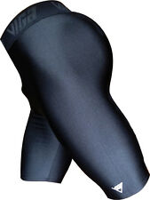 Viga Standard Lycra Shorts 2 Shiny Uni Sex Multisport Run Dance Wear RRP £26.99