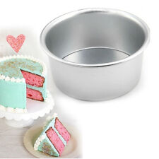 Round Sandwich Cake Bake Tin Pan Mold Mould Kitchen Bakeware Aluminum 8 Sizes RM