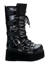 Demonia TRASHVILLE-519 Men'S 3 1/2 Inch Platform Calf Boot