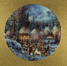 Sacred Circle THE WOLF DANCE Plate Native American Indian Kirk Randle + COA #5