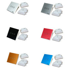 3 Way Wireless Remote Control Touch House Light Power Smart Wall Switch