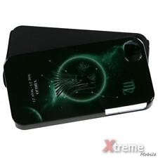 XM-For APPLE iPhone 4/4S/4G Hybrid Case Cover Fusion Silicone Virgo Horoscope  *